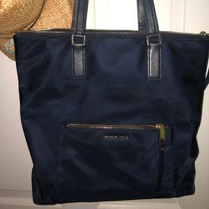 Michael Kors Navy Tote Bag